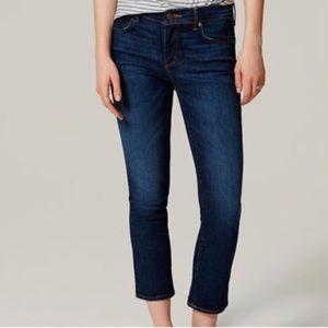 Ann Taylor Loft Curcy Crop Jeans 25/0
